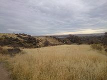 Idaho landscape. Landscape of boise idaho foothills stock photography