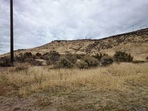 Idaho landscape. Landscape of boise idaho foothills royalty free stock photos