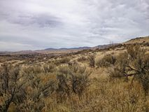 Idaho landscape. Landscape of boise idaho foothills royalty free stock photography