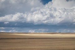 Idaho Landscape and clouds. Landscape of rural area near soda springs royalty free stock images