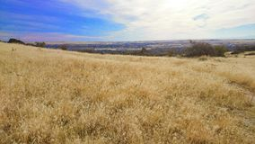 Idaho landscape. Foothills of boise idaho on a windy day stock photography