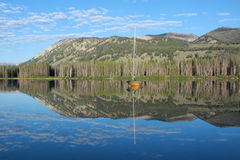 Idaho mountain lake Royalty Free Stock Photo