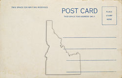 Idaho Postcard Royalty Free Stock Photography