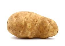 Idaho potato. An isolated Idaho potato, on white royalty free stock photography