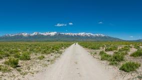 Idaho Road Panorama Stock Image