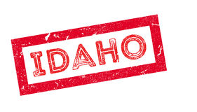 Idaho rubber stamp Stock Photography