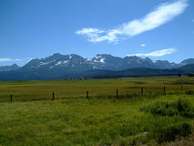 Idaho Sawtooth góry Zdjęcia Stock