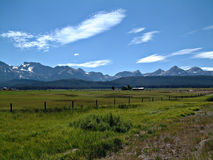 Idaho Sawtooth góry VII Fotografia Royalty Free