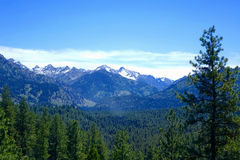 Idaho Sawtooths - Grand Jean Royalty Free Stock Images