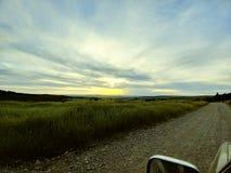 Idaho solnedgång Fotografering för Bildbyråer