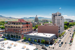 Idaho state capital in downtown Boise Stock Photos