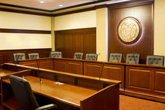 Idaho state capitol auditorium room. Royalty Free Stock Photos