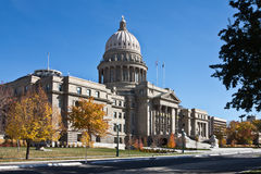 Idaho State Capitol, Boise, Idaho. Idaho State Capitol in Autumn, Boise, Idaho Royalty Free Stock Images
