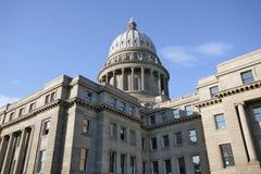 Idaho State Capitol Building. During morning sunrise Stock Photo