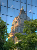 Idaho State Capitol Reflection Royalty Free Stock Images