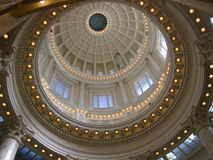 Idaho State Capitol Rotunda Stock Photography