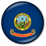 Idaho State Flag Button Stock Photos