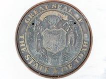 Idaho State seal Royalty Free Stock Photography