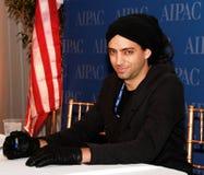 Idan Raichel. Israeli recording artist Idan Raichal signs albums at the Walter Washington Convention Center in Washington, DC. on March 5, 2012. Raichal's band stock photos