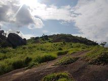 Idanre-Hügeltourismus bestenfalls Lizenzfreie Stockfotos