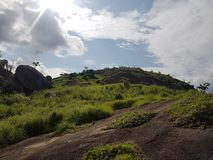 Idanre hills tourism at best Royalty Free Stock Photos
