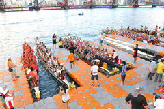 Hong Kong :IDBF Club Crew World Championships 2012 Stock Photography