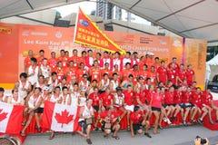 Hong Kong :IDBF Club Crew World Championships 2012 Stock Photo