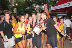 IDBF Klumpen-Besatzung-Weltmeisterschaften 2012 lizenzfreies stockfoto