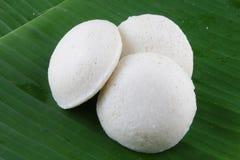 Iddli is een traditioneel ontbijt van zijn Zuiden Indische huishoudens, een zeer populaire smakelijke schotel van Zuiden Indische stock fotografie