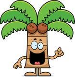 Idée de palmier de bande dessinée Image stock