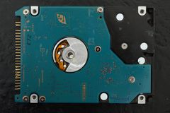 IDE Hard drive. Disk royalty free stock photos