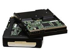 Hard drives Stock Photo