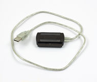 IDE to USB cord Royalty Free Stock Photo