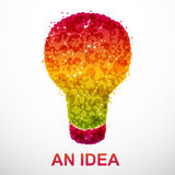 An idea Royalty Free Stock Photo