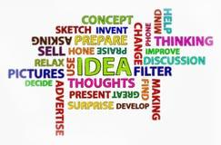THE IDEA Stock Photo