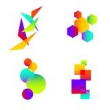 Idea abstracta del elemento de color Ilustración del Vector