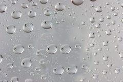 Idea, acqua di gocce Immagine Stock