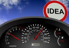 Idea ahead Stock Photography