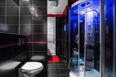 Idea alta tecnologia Luxe del bagno Fotografia Stock Libera da Diritti
