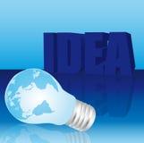 Idea background Stock Photo
