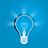 Idea background Stock Photography