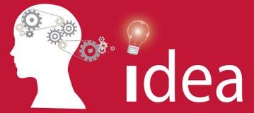Idea background Stock Image