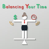 Idea balance your life business concept Stock Images
