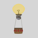 Idea balloon Bulb. 