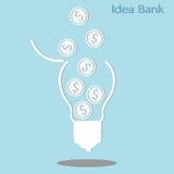 Idea bank Stock Photos