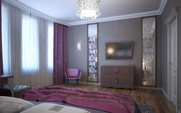 Idea of bedroom for youth Royalty Free Stock Photography