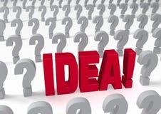 An Idea! Stock Photos