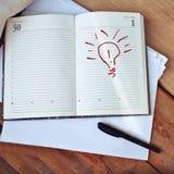Idea brillante Fotografía de archivo libre de regalías