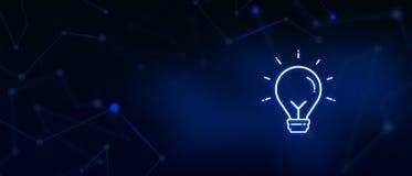 Idea bulb, business solution, success, creativity, inspiration, resources, bright stock illustration