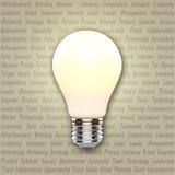 Idea bulb Stock Photography
